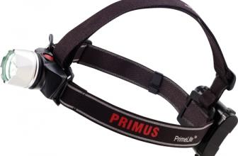Primus Primelite – Stirnlampen aus Schweden