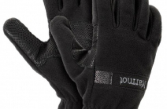 Marmot Windstopper Glove – Handschuhe mit Gore Windstopper